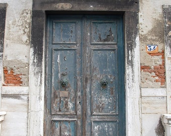 "Doors Photography ""Venice Green Door #34"""