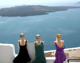 "Greece Photography ""Naughty Mannequins, Santorini, Greece"""