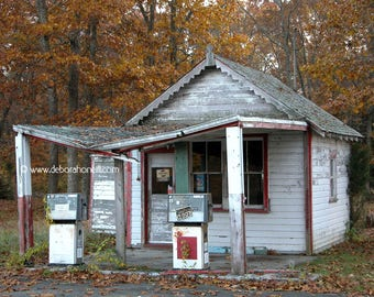 "New England Photography ""Filling Station, Ledyard, CT"""