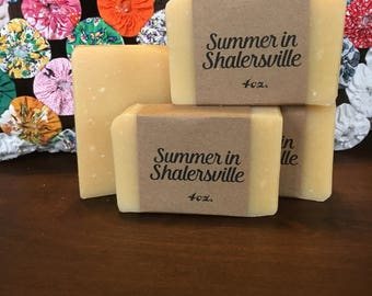 Summer in Shalersville Soap, 4oz.