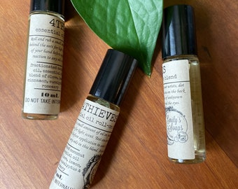 Emily's 4Thieves essential oil roll-on, 10mL