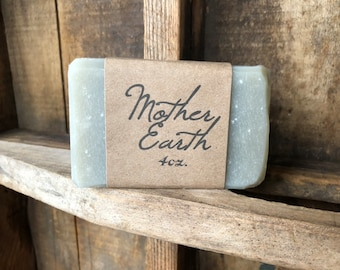 Mother Earth Soap, 4oz.