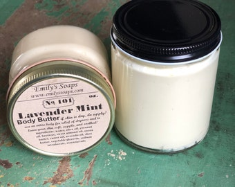 Lavender Mint Body Butter