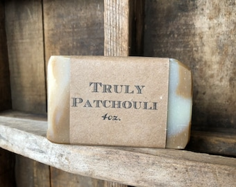 Truly Patchouli Soap