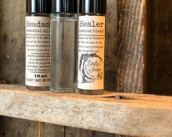 Headache Healer Essential Oil Roll-On, 10mL