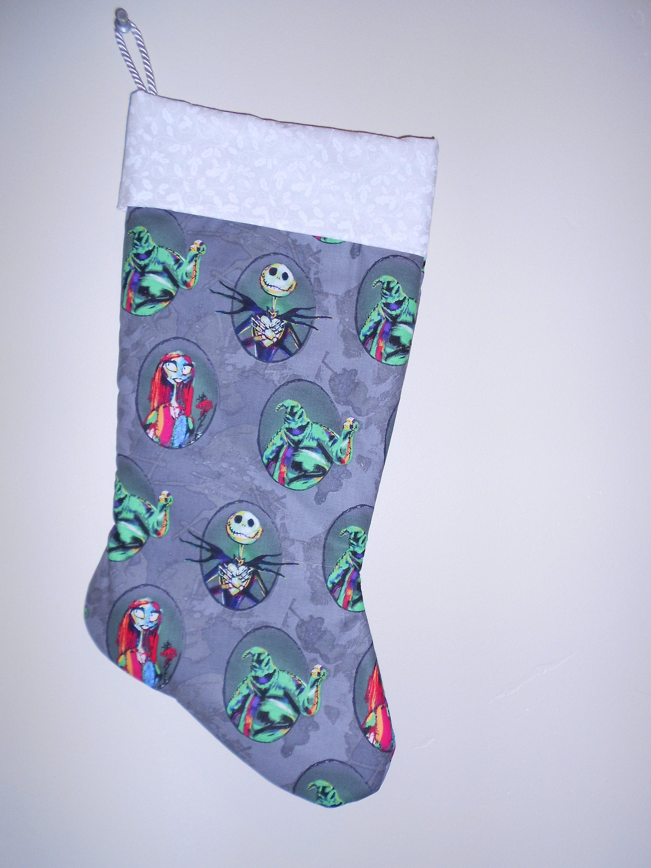 Nightmare Before Christmas stocking | Etsy