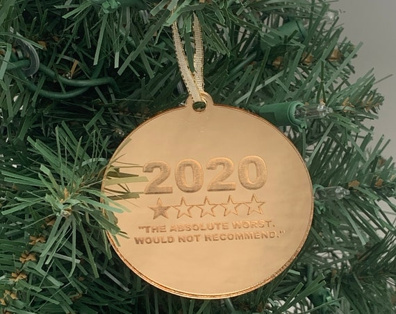 2020 Ornament, 2020 The Absolute Worst Christmas Ornament