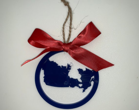 ANY Province Personalized Christmas Ornament