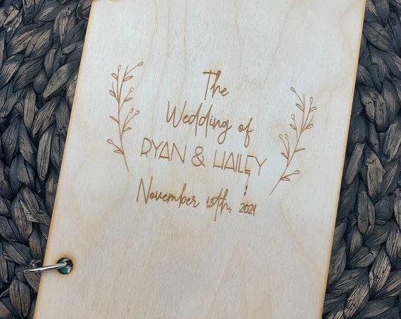 Personalized Card Holder, Memory Keepsake, Wedding Card Holder