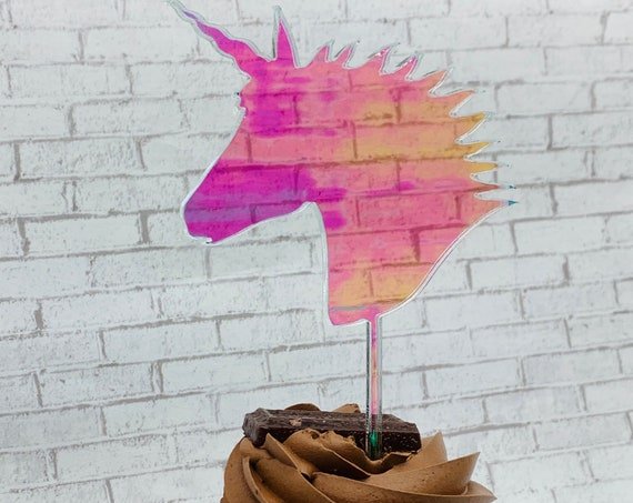 Unicorn Cupcake Topper, Unicorn Party, Unicorn Theme