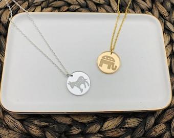 VOTE Democrat BIDEN 2020 USA Political Cute Unique Custom Glass Cabochon Pendant Necklace Charm or Key-chain 25x18mm ~ Great Gift!