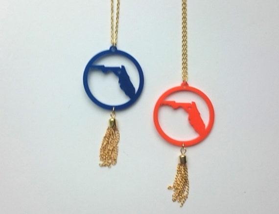 Florida Tassel Necklace