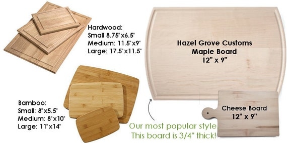 Design Your Own - Custom Cutting Board - Perfect for Real Estate Agent or REALTOR housewarming gift