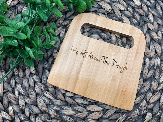 Personalized Bamboo Dough Cutter