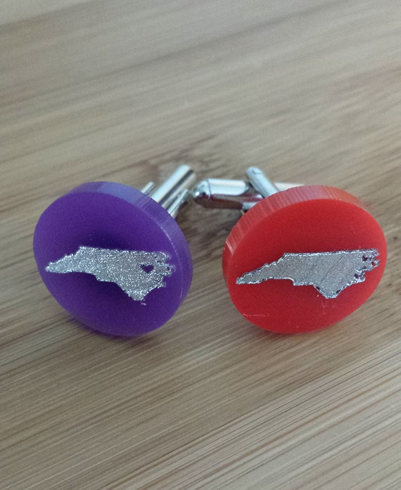 State Love (any state) cuff links - with gift box