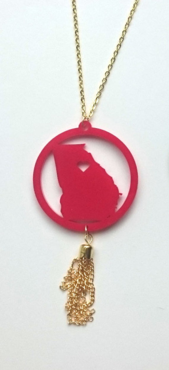 ANY STATE Tassel Necklace