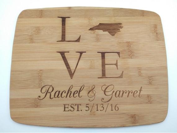 Love Wood Cutting Board: Small, Medium, Large, Bamboo and Hardwood