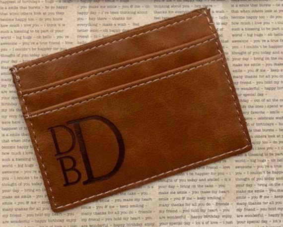 Personalized Credit Card Holder
