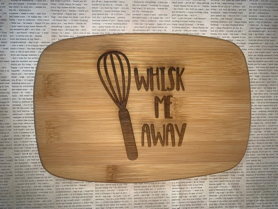 Whisky Me Away - Cutting Board