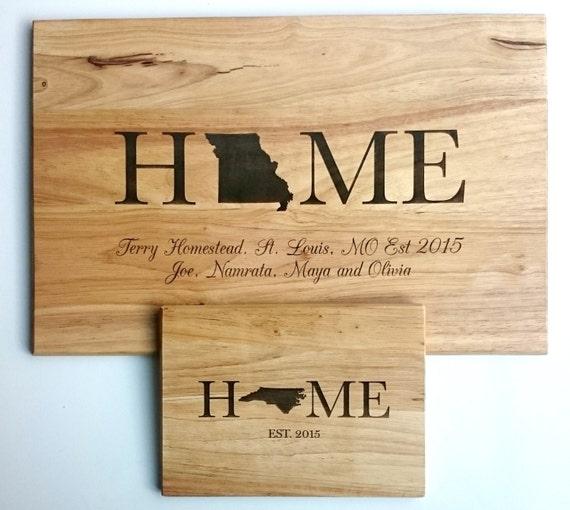 Home Wood Cutting Board: Small, Medium, Large, Bamboo and Hardwood