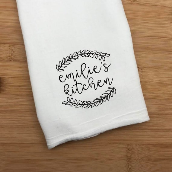 Personalized Kitchen Towel, Name's Kitchen Towel