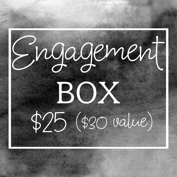 Mystery Engagement Box, Engagement Box, Mystery Gifts From Hazel Grove