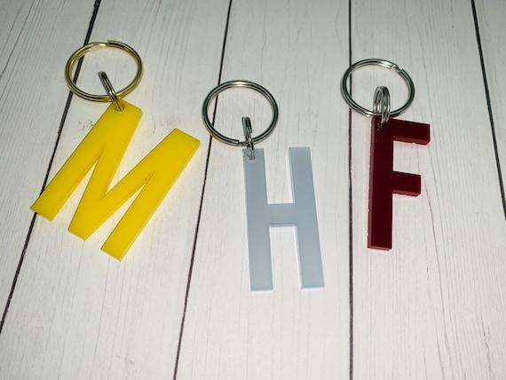 Single Letter Keychain