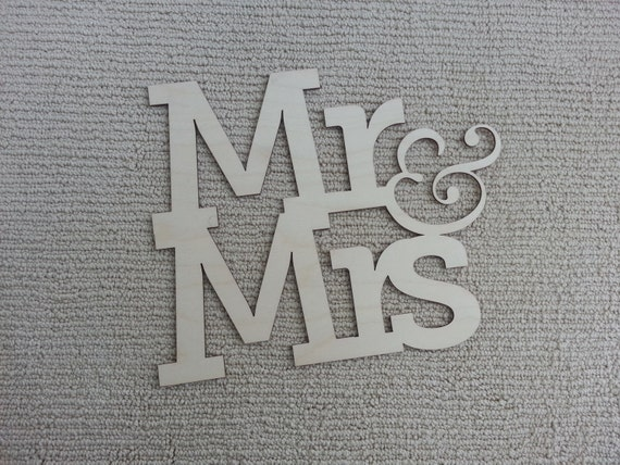 Laser-Cut Mr. & Mrs. Guest Book