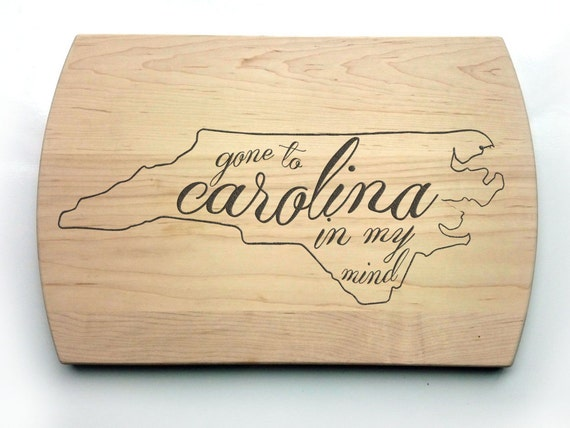 Carolina In My Mind Cutting Board