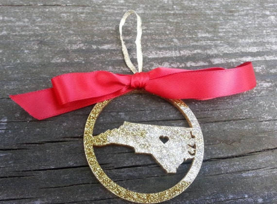 ANY State or Country Personalized Christmas Ornament