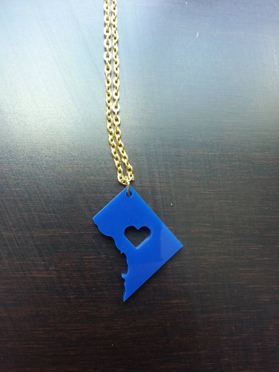 Personalized! Acrylic DC necklace
