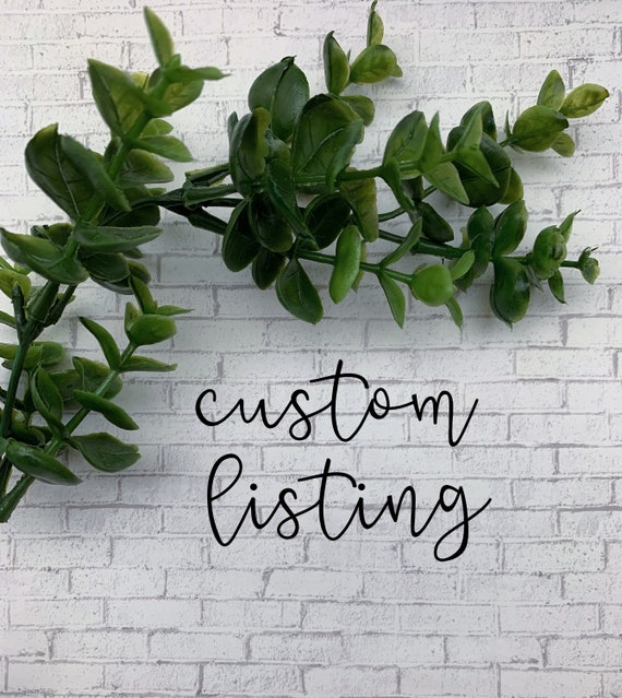 Custom Listing for mathilde