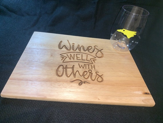 Wines Well With Others - Cutting Board