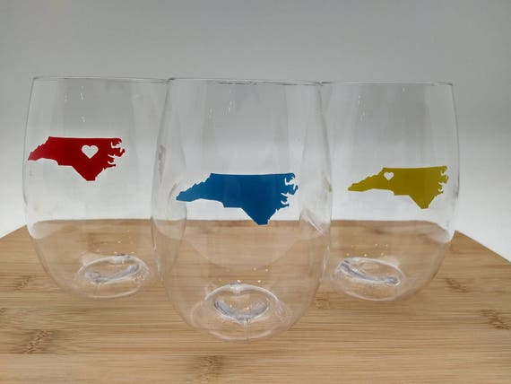 State Love GoVino Wine Glass (Single Unit)