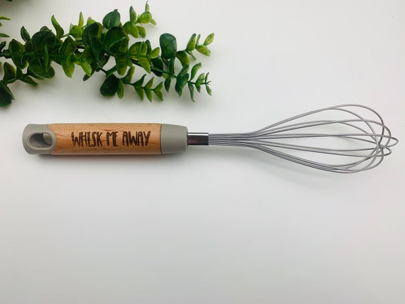 Custom Whisk - Kitchen Whisk - Personalized Whisk - Egg Beater - Egg Whisk - Chef Gift - Laser Engraved Whisk - Cook Off Prize