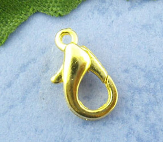 Gold Lobster Clasp - Perfect for Jewelry Making
