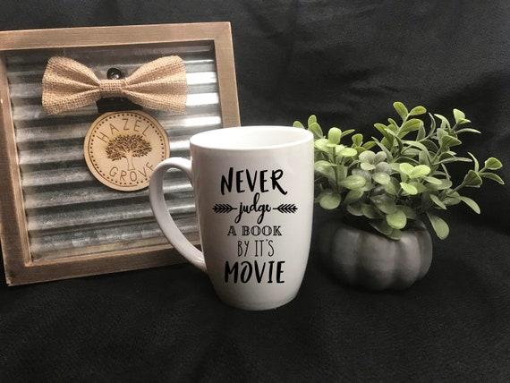 Never Judge - 16oz Mug