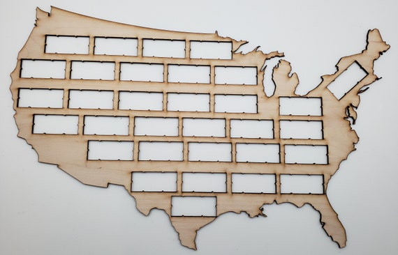 USA Wine Cork Map - Perfect for Wine Lover - Great GIft for Mother's or Father's Day