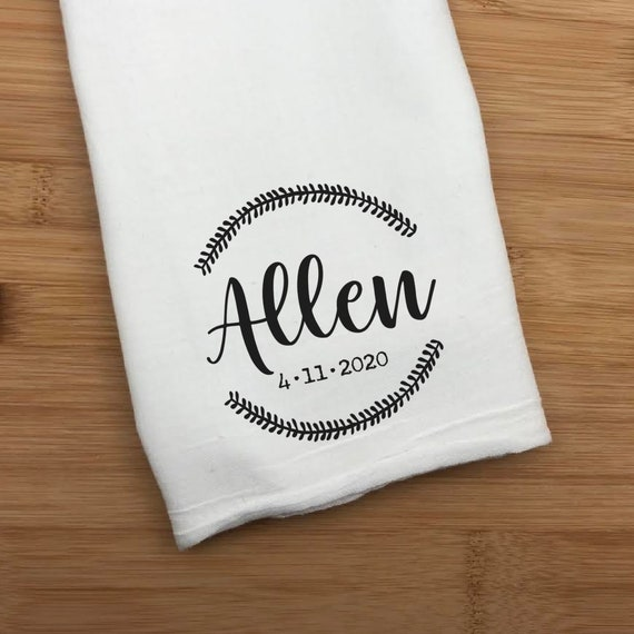 Last Name Hand Towel, Kitchen Towel, Last Name And Date Hand Towel, Towel For Kitchen, Gift For Mom, Gift For Her