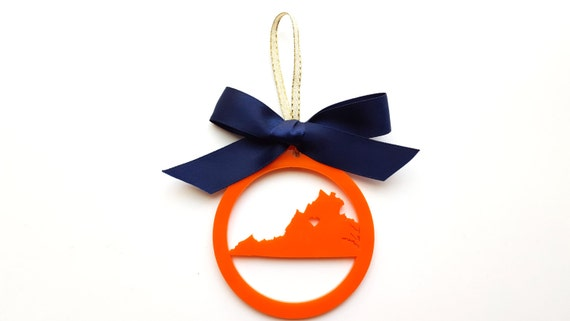 Charlottesville, Virginia (or any city and state) Christmas Ornament