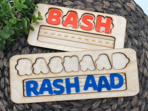 Kids Name Board, Teaching Toy For Kids, Personalized Kids Toy With Name, Gifts For Kids