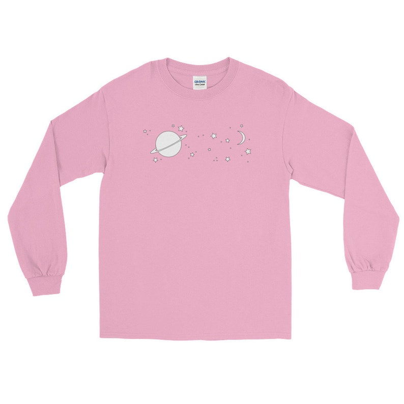 a11e6c34e6783 pastel galaxy shirt - galaxy clothing - galaxy print - long sleeve shirt  womens - long sleeve shirt for men - pastel goth - aesthetic tumblr