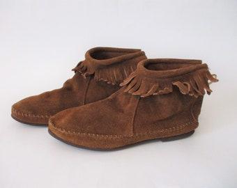af61f0433ec58 1970s suede shoes | Etsy