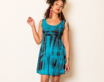 e255f57bfc1 Shorter MAXI DRESS - tie dye bamboo maxi dress