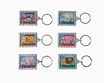 84862b160 Amiibo Compatible Tag - Hello Kitty Animal Crossing Sanrio Cards Set of Six