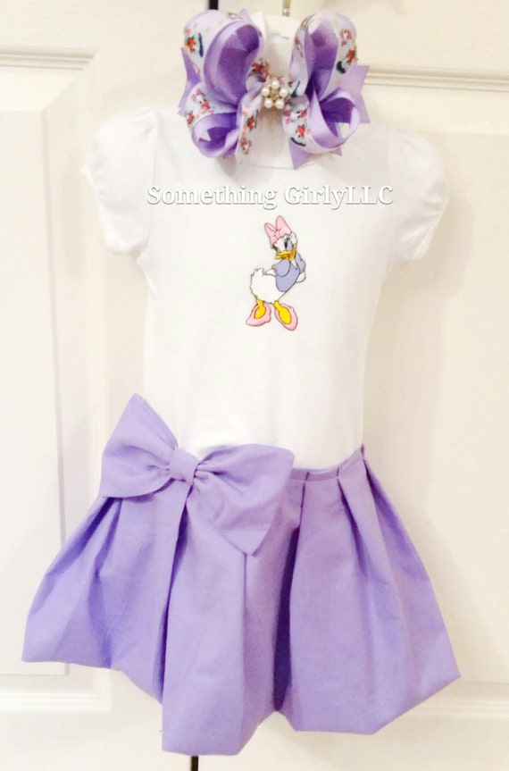 Mi Daisy pato vestido y conjunto de arco