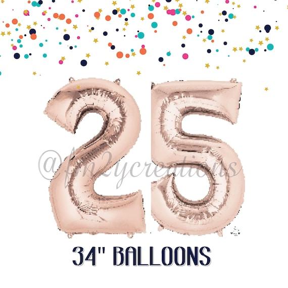 25th Birthday Decorations