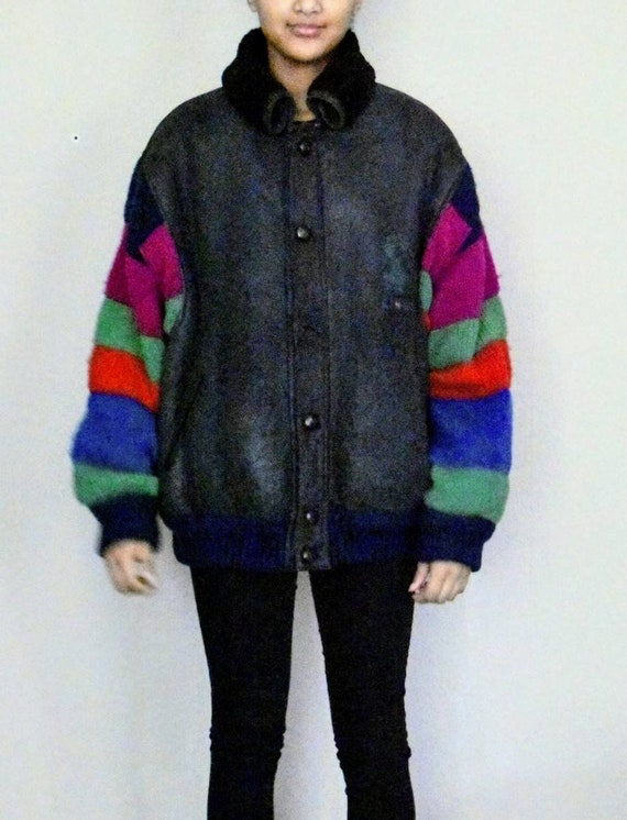 CASTELBAJAC Vintage Sherling Jacket