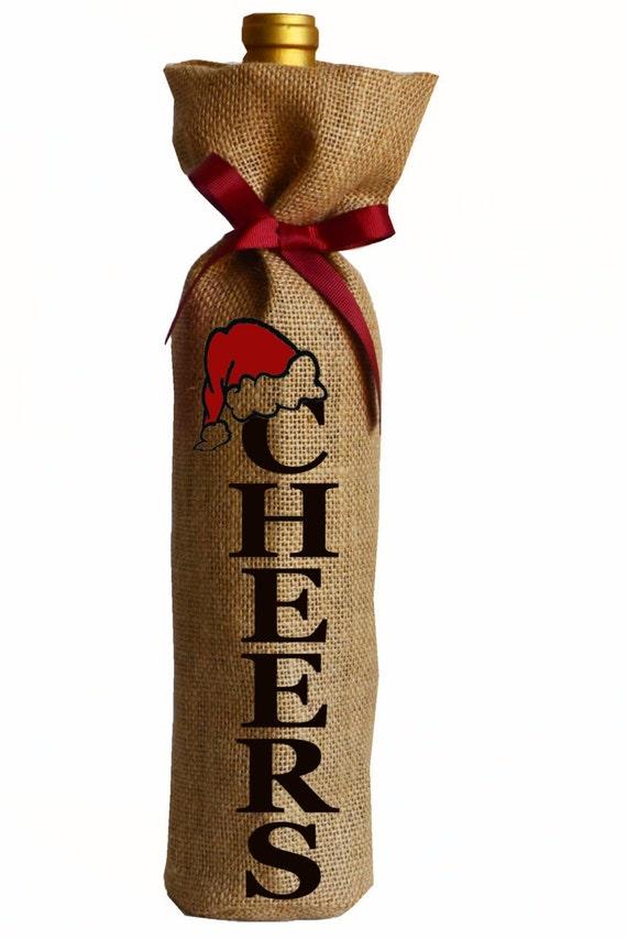 Weihnachten Wein Wein Geschenk-Taschen Taschen Weinflasche   Etsy