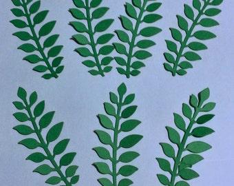 30 leaves die cuts - cardstock
